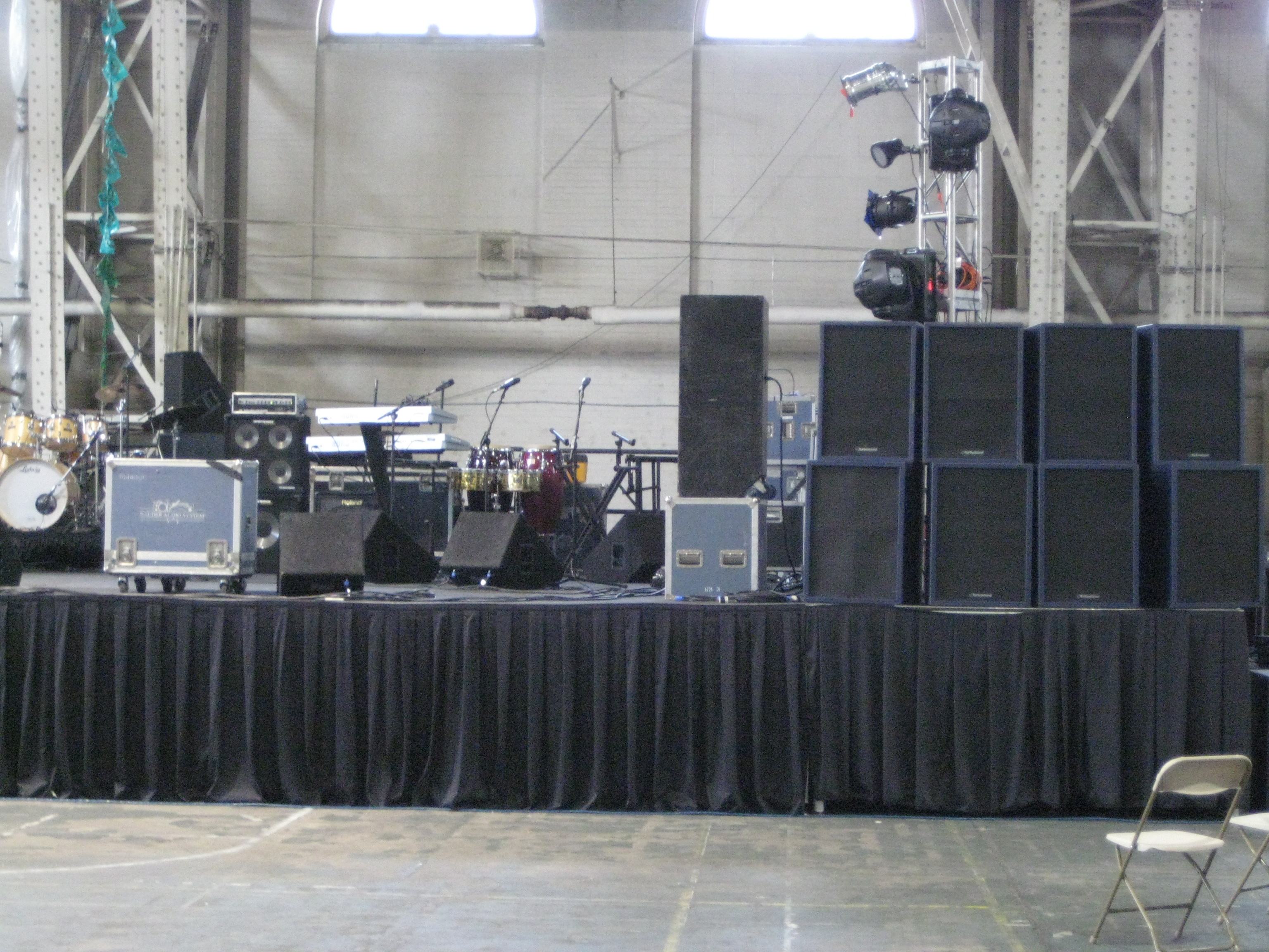 Concert Equipment Rentals A V Rental Services Inc