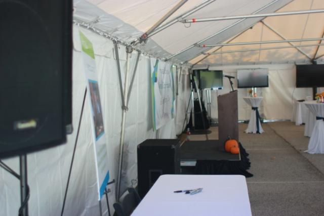 large screen, tv, tv rental, big screen, array solutions, audio visual, equipment rental, rentals