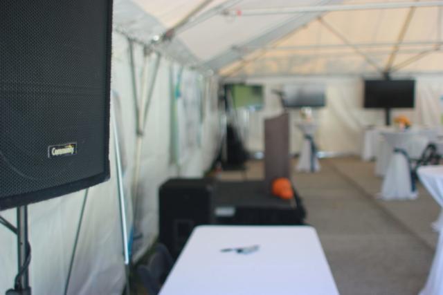community loudspeaker, sound system, tv rental, big screen, array solutions