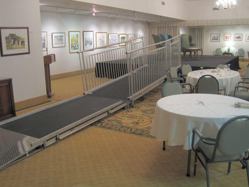 hc ramp, ada ramp, ramp rental, rent, renting, stage, ada stage, ramp rental, riser, handicap