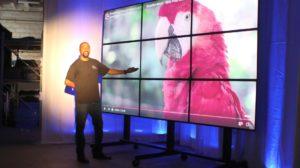 videowall, hd videowall, video wall rentals, big tv, big screen tv